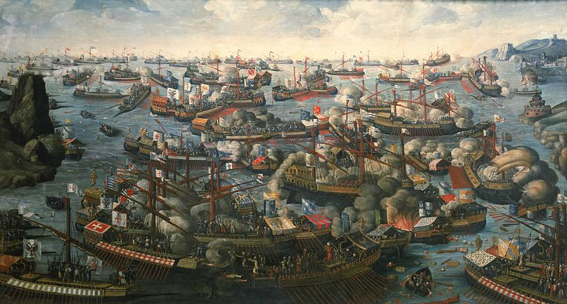 800px Battle of Lepanto 1571
