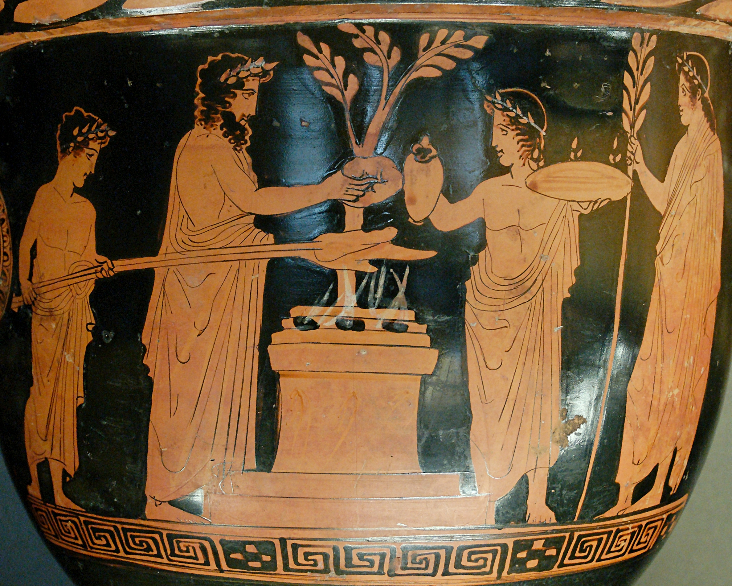 Sacrifice Pothos Painter Louvre G496