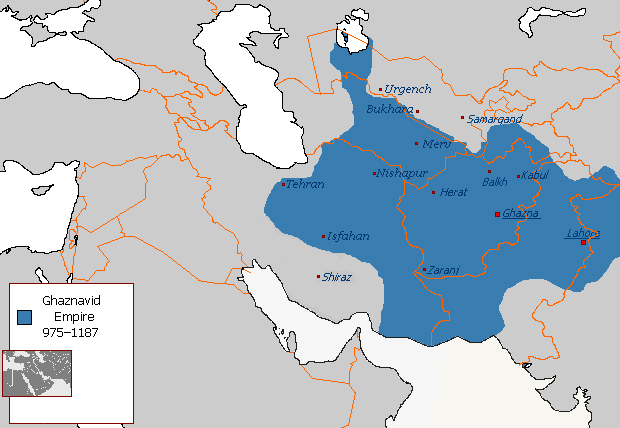 Ghaznavid Empire 975 1187 AD