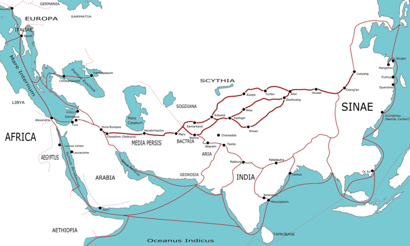 800px Transasia trade routes 1stC CE gr2