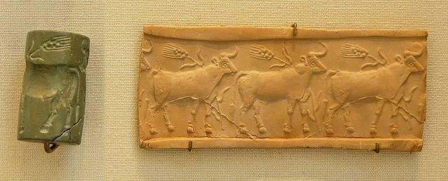 640px Cylinder seal cattle Louvre MNB1906