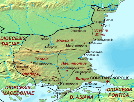 Dioecesis Thraciae 400 AD