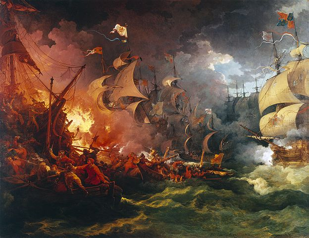 Loutherbourg Spanish Armada
