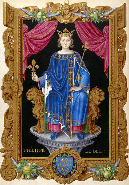 420px Philippe IV le Bel