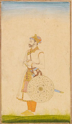 280px Portrait of a Mughal officer
