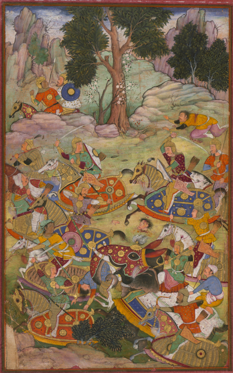 The battle of Panipat and the death of Sultan Ibrhm the last of the Ld Sultans of Delhi