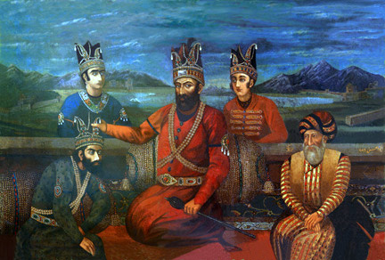 Nader shah and his sons