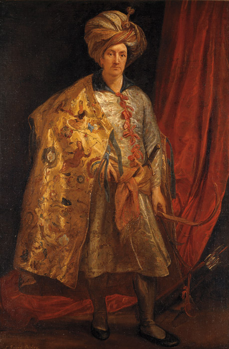 Sir Robert Shirley by Anthony Van Dyck 1622 Rome