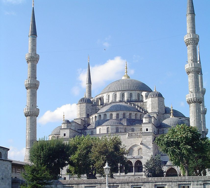 857px Sultan Ahmed Mosque