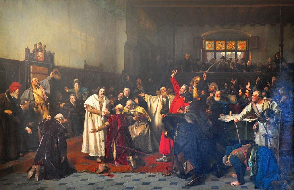 Резултат с изображение за Владислав II е коронован за крал на Чехия.